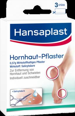 HANSAPLAST Hornhautpflaster 3 St