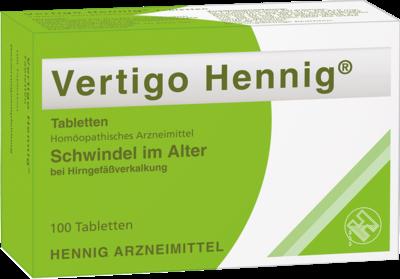 VERTIGO HENNIG Tabletten 100 St