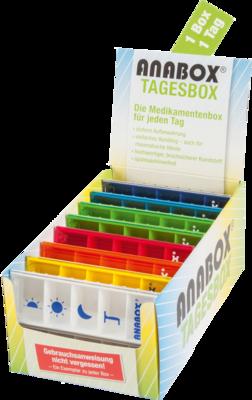 ANABOX Tagesbox farbig sortiert 1 St