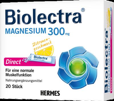 BIOLECTRA Magnesium Direct Pellets 20 St