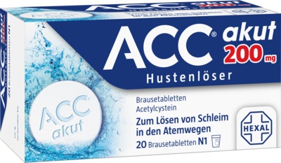 ACC akut 200 Brausetabletten 20 St