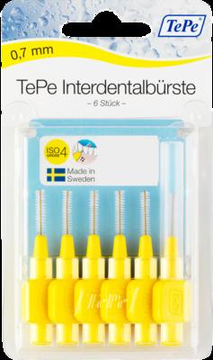 TEPE Interdentalb�rste 0,7mm gelb 6 St