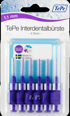 TEPE Interdentalb�rste 1,1mm lila 6 St