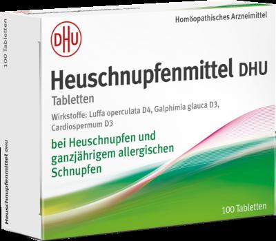 HEUSCHNUPFENMITTEL DHU Tabletten 100 St