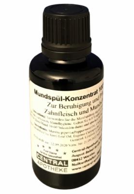 MUNDSPÜL-KONZENTRAT 100% pflanzlich ohne Menthol 30 ml